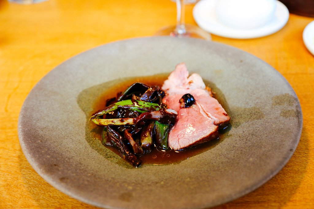 Pork from Hindsholm, black currants