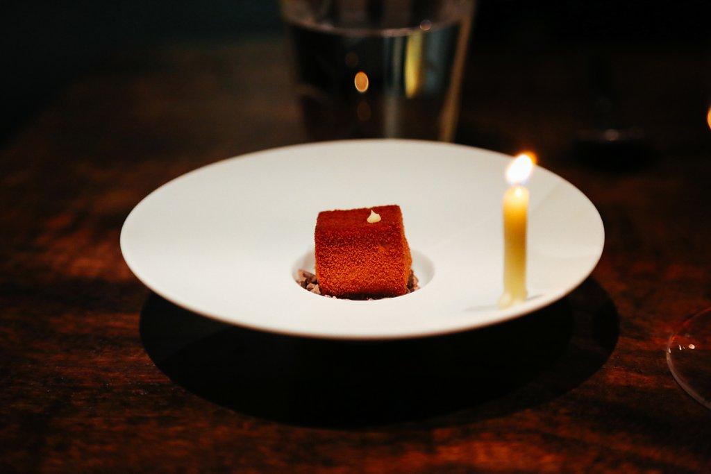 """Happy Birthday"" chocolate truffle"