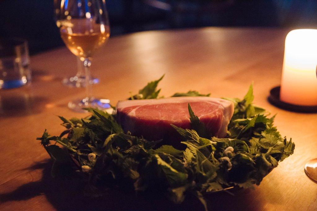 Pork loin pre preparations