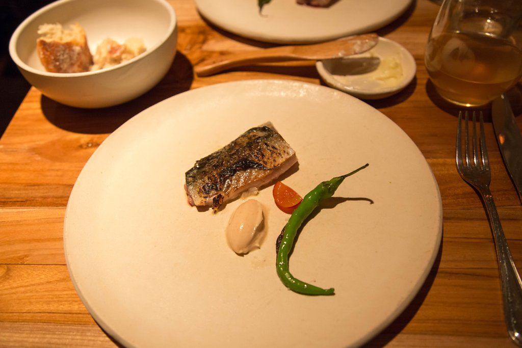 Mackerel, umeboshi and fushimi