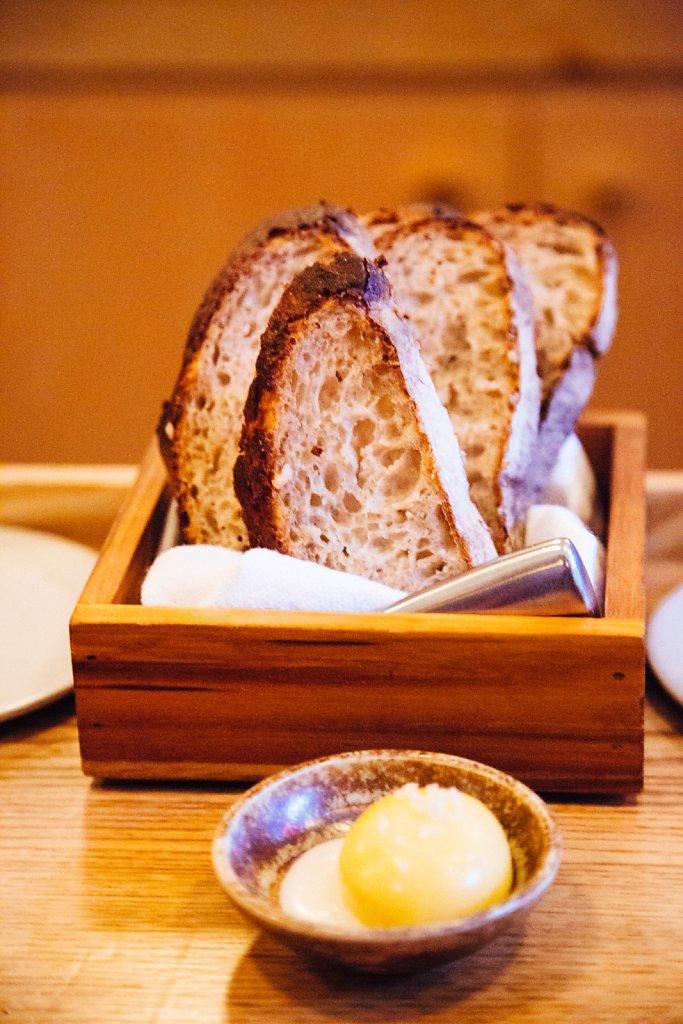Whole Grain Sourdough with Cowbella Butter & Buttermilk